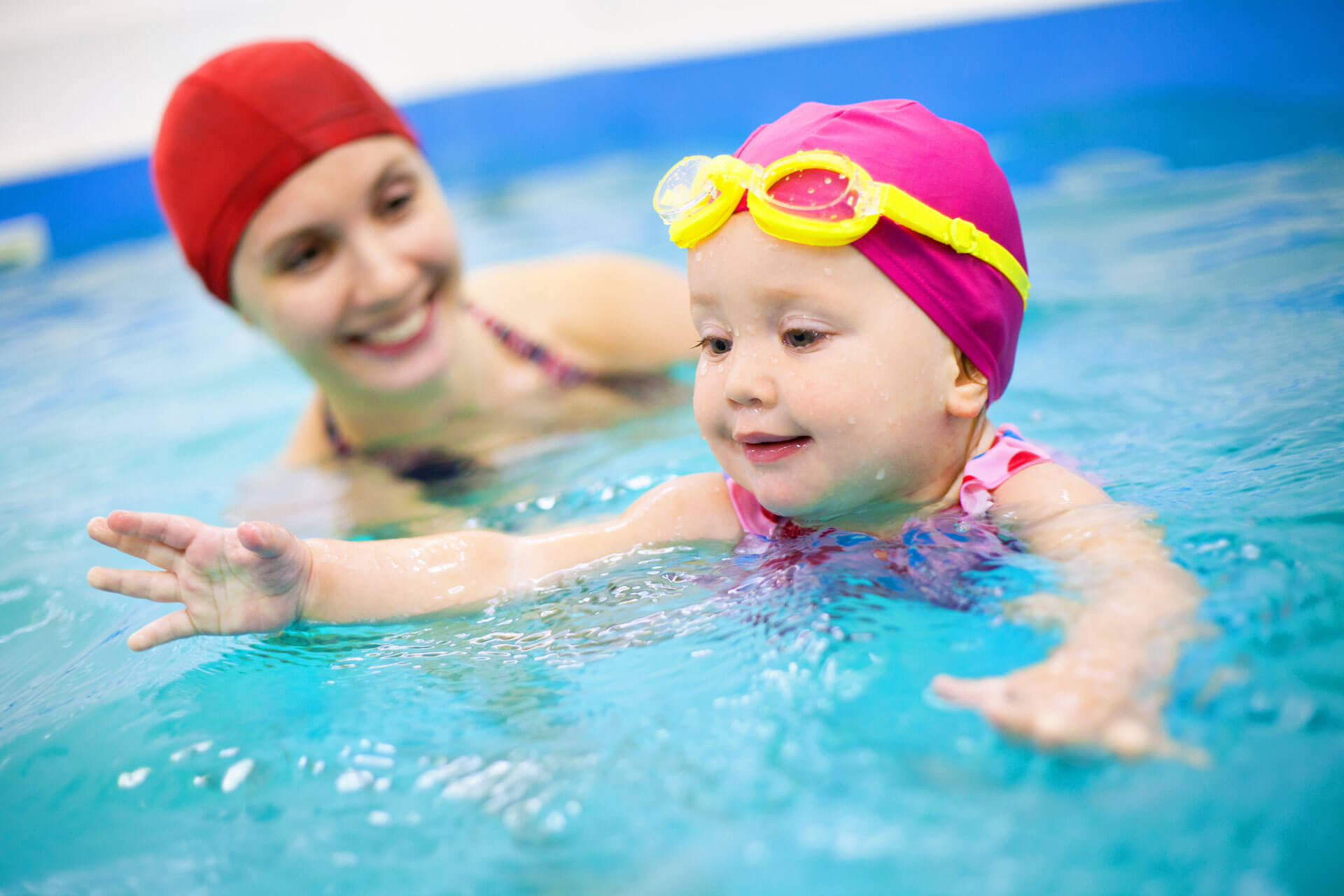 Adult and Baby Swimming Classes in Ely Cambridgeshire